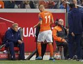 روبن يطالب بالمشاركة فى اختيار مدرب هولندا الجديد مع شنايدر
