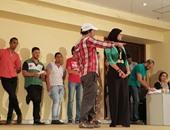 """بالصور.. الفنان علاء مرسى يختار عناصر """"فرقة الموهوبين"""" بالإسكندرية"""