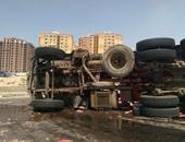 إصابة 11 فى حادث تصادم بين سيارتين على الطريق الزراعى الغربى بسوهاج