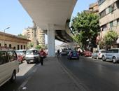 """""""المرور"""" يغلق شارع 26 يوليو جزئيا لمدة عام لإنشاء محطة مترو ماسبيرو"""
