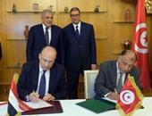 محلب ونظيره التونسى يشهدان التوقيع على 16 اتفاقية تعاون بين البلدين