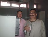 بالصور.. إجراء الكشف الطبى على 60 مرشحًا بمستشفى كفر الشيخ العام