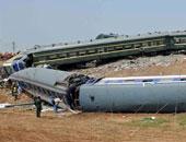 إصابة 4 أشخاص بسبب انحراف قطار عن القضبان فى ولاية فيرمونت الأمريكية