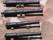 """العثور على """"دانة مدفع"""" من مخلفات الحرب العالمية الثانية بمطروح"""