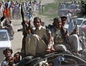 مشاركة نسائية نادرة فى اعتصام بمعقل لطالبان بأفغانستان للمطالبة بالسلام