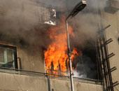 ندب الأدلة الجنائية لمعاينة حريق داخل عقار سكنى فى المقطم