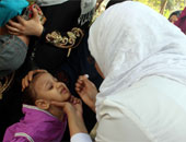 """دواوين الوزارات × 24 ساعة.. تطعيم 8.6 مليون طفل """"ضد شلل الأطفال"""""""