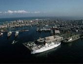 وصول شحنة قمح وتداول أكثر من 9 آلاف شاحنة بميناء الإسكندرية