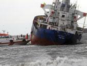 تصادم سفينتى صيد إحداهما يابانية والأخرى كورية جنوبية وإنقاذ 13