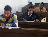 رئيس جامعة عين شمس يتفقد لجان امتحانات نهاية العام بالكليات