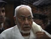 """""""السجون"""": مهدى عاكف ينقل إلى المستشفى يومياً لتلقى العلاج"""