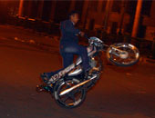 مصرع شخص وإصابة اثنين فى حادث تصادم دراجتين ناريتين بالغربية