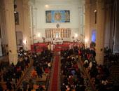 استمرار توافد الآلاف على كنيسة قصر الدوبارة للاحتفال برأس السنة