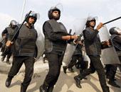 تعزيزات أمنية بمحيط قسم حلوان تحسباً لمظاهرات الإخوان