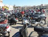 أمن الشرقية يضبط المتهمين بسرقة دراجة نارية من مزارع بمشتول السوق