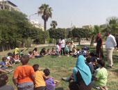 امتلاء المتنزهات والحدائق بالمواطنين فى ثالت أيام عيد الأضحى بسوهاج