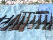 ضبط 5 قطع أسلحة نارية وتنفيذ 804 أحكام فى حملة أمنية بسوهاج