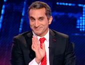 باسم يوسف يحتفل بوصول صفحته لـ 6 ملايين متابع على تويتر