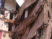 مصرع سيدتين وإصابة 2 فى انهيار منزل بطوخ قليوبية