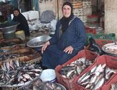 أسعار السمك اليوم الجمعة 18-10-2019 بسوق العبور