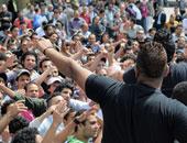 وايت نايتس يتجمهر أمام بوابات الزمالك للمطالبة بتذاكر مباراة إنبى