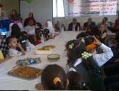 بدء حملات تطعيم طلاب المدارس بالجيزة ضد الأنيميا والتقزم والسمنة