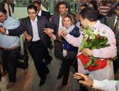 هالة سرحان تغلق ملف العادلى واضطهاد سوزان مبارك لها وتعود إلى مصر وسط استقبال حاشد