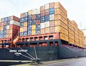 تداول 26 سفينة بضائع وحاويات بموانئ بورسعيد