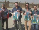 بالصور.. توافد أبناء مبارك أمام أكاديمية الشرطة قبل بدء محاكمته