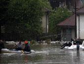 الفيضانات تتسبب فى تشريد 100 ألف شخص فى المناطق الحدودية بين الكاميرون وتشاد