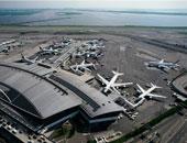 السيطرة على حريق نشب بطائرة بمطار جون كينيدى الأمريكى