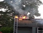 الحماية المدنية بالدقهلية تسيطر على حريق بمنزل ببنى عبيد