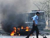 إصابة شخصين فى انفجار عبوة ناسفة أثناء مرور قطار شرق تركيا