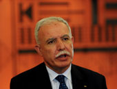 وزير خارجية فلسطين: متمسكون بالمقاومة السلمية والخيار العسكرى غير متوفر للعرب