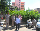 تحرير 956 مخالفة مرورية وفحص 13 شخصا جنائيا فى حملة مكبرة بالمنوفية