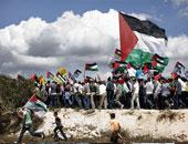 مسيرة فلسطينية منددة بالاستيطان..والاحتلال الإسرائيلى يعتقل شابا من الخليل