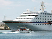 ميناء بورسعيد يستقبل 84 سائحاً من جنسيات مختلفة