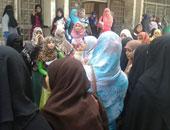 بالفيديو..طالبات الإخوان ينهين مظاهراتهن اليوم بجامعة الأزهر