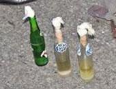 ضبط إخوانى بحوزته 3 زجاجات مولوتوف وبارود فى نفق زهراء المعادى