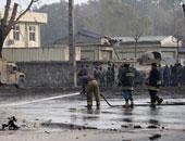 مقتل شخصين وإصابة 40 فى عملية انتحارية استهدفت مقر للشرطة بأفغانستان