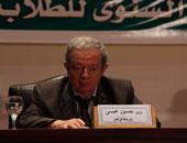 رئيس عين شمس:لم نجد مظاهرة واحدة رفعت مطالب خاصة بالطلبة العام الماضى