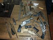 القبض على عاطل لتصنيعه الأسلحة النارية فى الجيزه