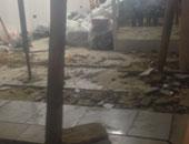 إخلاء منزل مكون من 4 طوابق بحى غرب سوهاج بسبب حدوث تصدعات وتشققات