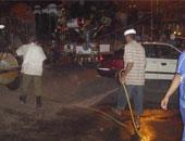 حى منشأة ناصر: غرامة  5 آلاف جنيه لرش المياه فى الشوارع