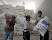 """مركز المصالحة الروسى يوزع مساعدات إنسانية فى """"منبج"""" شمال سوريا"""