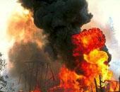 """اندلاع حريق في مصنع صواريخ """"سارمات"""" الباليستية وسط روسيا"""