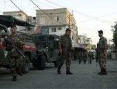 الجيش اللبنانى يعلن توقيف مواطنا وفتح طرقات من قبل وحدات العسكرية