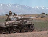 الجيش السورى يقاتل مسلحين فى مرتفعات الجولان