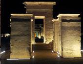 آثار الوادى الجديد: تعامد آشعة الشمس على قدس الأقداس بمعبد هيبس غدا