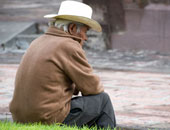 مسن تركى يصوم رمضان للمرة الـ 100 فى حياته